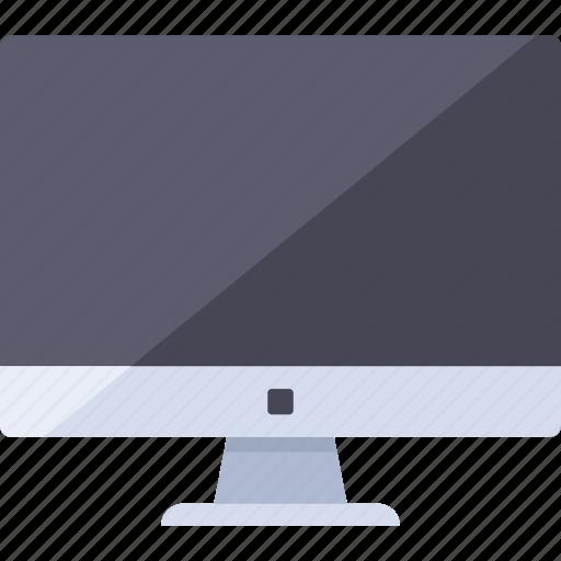 analytics, computer, desktop, electronic, video icon