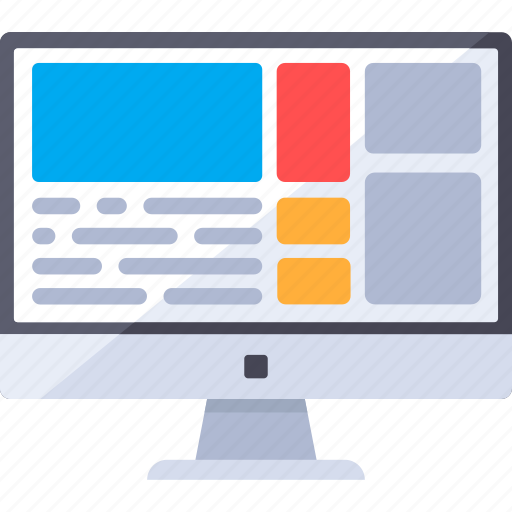 analytics, browser, interface, video, web icon