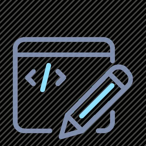 App, application, code, developer, editor, ide, web icon - Download on Iconfinder