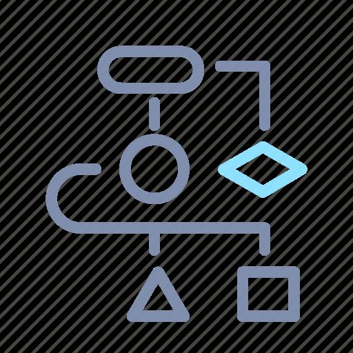 App  Chart  Developer  Diagram  Schema  Web  Workflow Icon