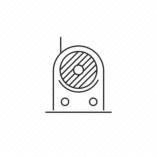 medium, radio, signal, wave icon