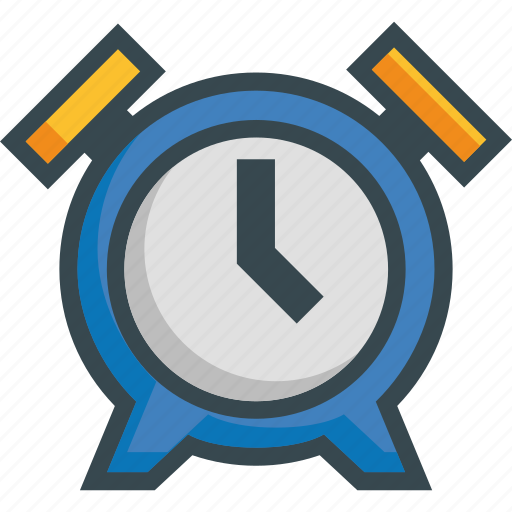 Alarm, bell, clock, morning, ringing, time, wake icon - Download on Iconfinder