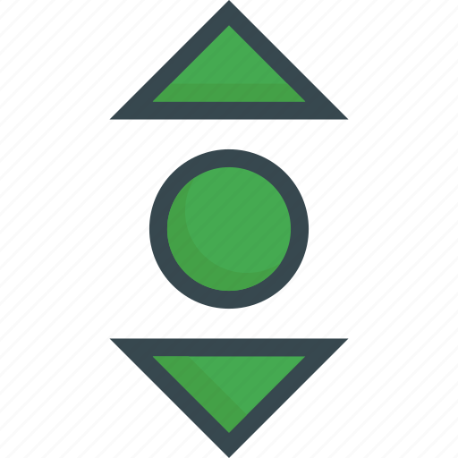 direction, move, navigation, scroll, swipe icon