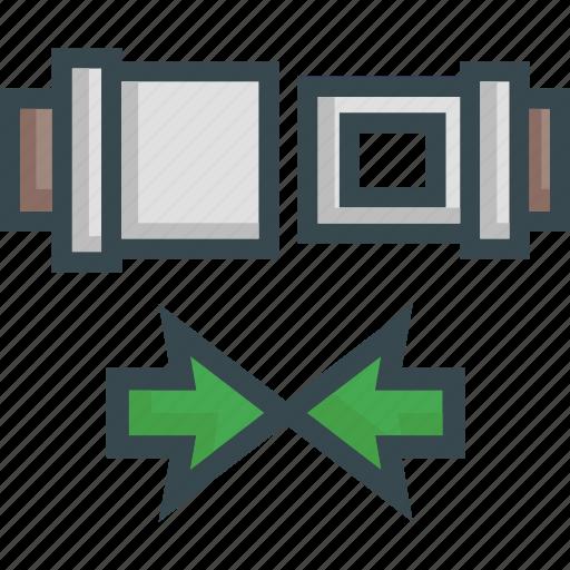 belt, fasten, lock, seat, security icon