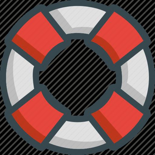 flotation, help, lifebuoy, lifeguard, support icon