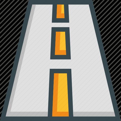 highway, lane, road, trip, way icon
