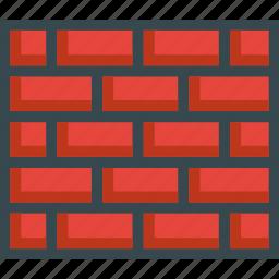 bricks, build, building, construction, wall icon