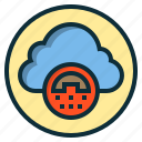 botton, cloud, data, mobile, phone, web icon