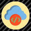 botton, calculator, cloud, data icon