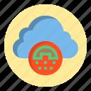 botton, cloud, phone, web icon