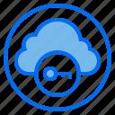 botton, cloud, data, key icon