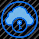 botton, cloud, key, web icon