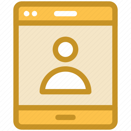 login screen, mobile app, mobile phone, mobile ui, signup screen icon