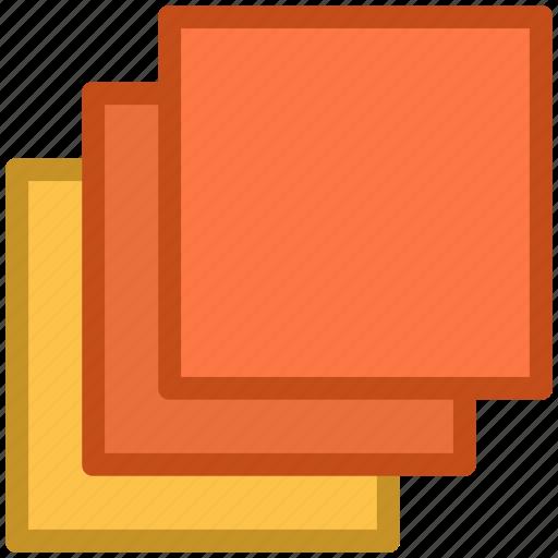 affiliate, design, intersection, overlap, squares icon