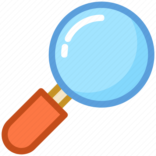 loupe, magnifier, magnifying glass, search web, searching glass icon