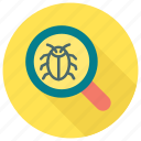 antivirus, bug, find, search, virus icon icon