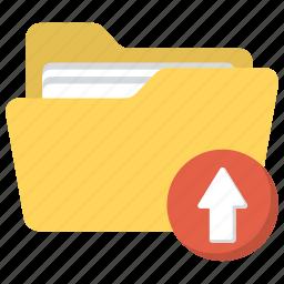 data import, data uploading, upload and manage data, upload files, upload folder icon