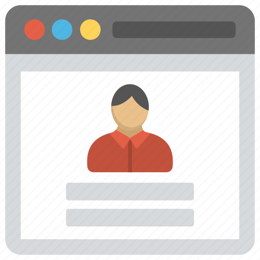database administrator, programmer, project manager, software architect, web developer icon