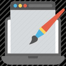 computer designing, computer graphics, graphic design, technology graphics, web graphics icon