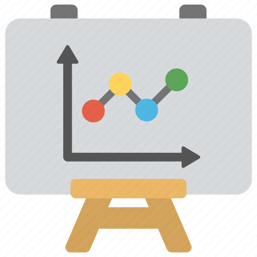 analysis, analytics, conference, presentation, seminar icon