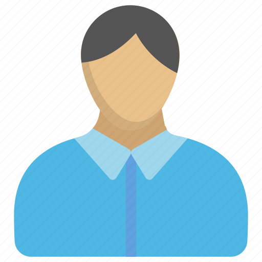 faceless person, male avatar, man, official, personification icon