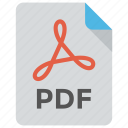 electronic document, file format, file name, pdf, portable document format icon