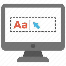 adding text, computer file formats, font size, formatting text, rich text format icon
