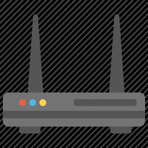 Internet modem, internet router, wifi hotspot, wireless ...