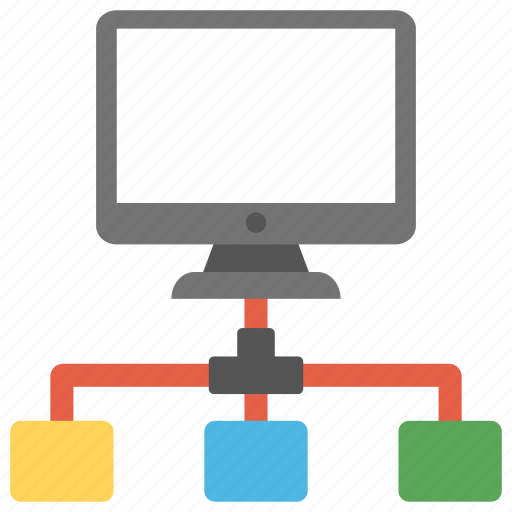 computer network, network server, server connection, server model, web hosting icon