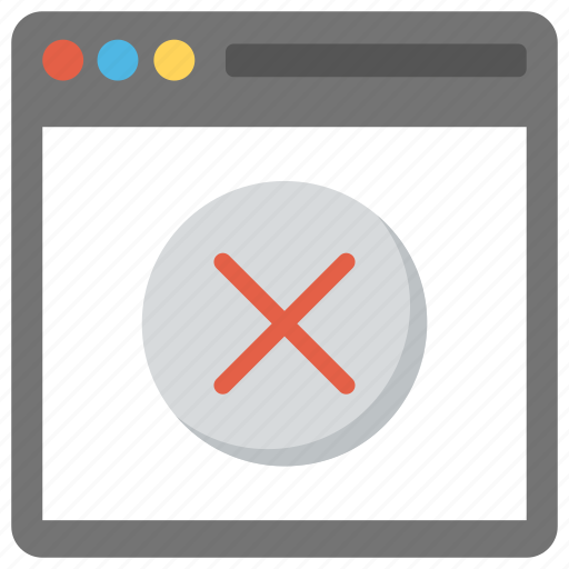 access blocked, access denied, page not found, web page blocked, website blocked icon