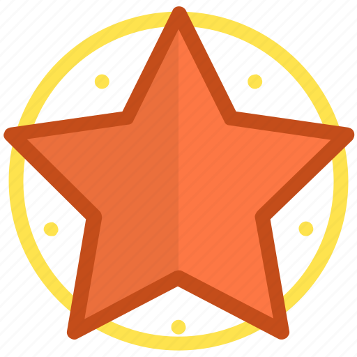 favorite, five pointing, ranking mark, star, success icon