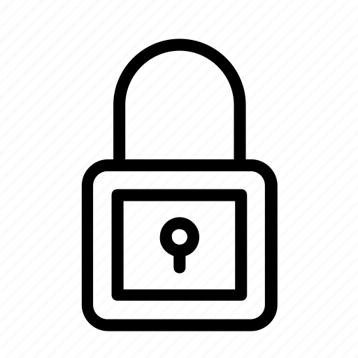 background, icon, lock, vector icon