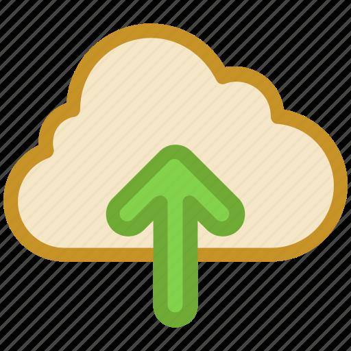 cloud computing, cloud upload, data uploading, networking, uploading icon