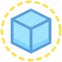 box, cube, cubic box, parcel, square box icon