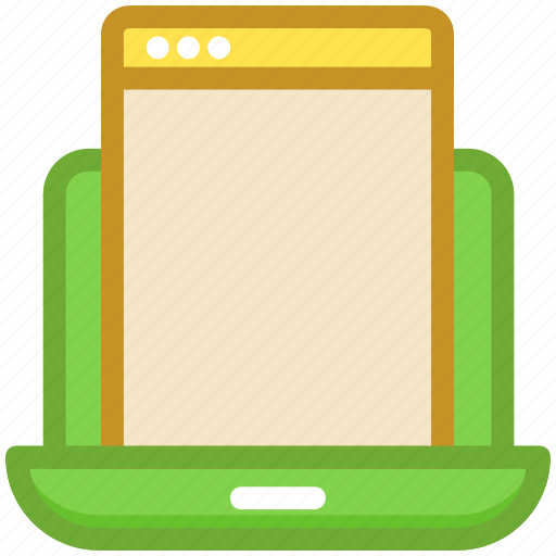 adaptive, devices, laptop, mobile, responsive devices icon