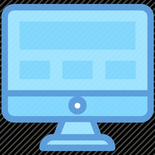 display, lcd, led, monitor, screen icon