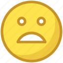 emoji, emoticons, face expressions, sad smiley, smiley face icon