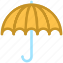insurance, parasol, protection, sunshade, umbrella icon