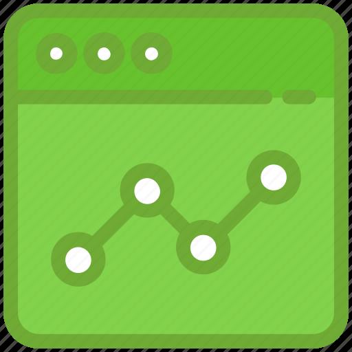 adwords, seo graph, statistics, website graph, website ranking icon