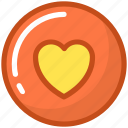favorite, heart, like, love, valentine icon