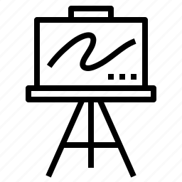 art, blank, canvas, design, sketch icon