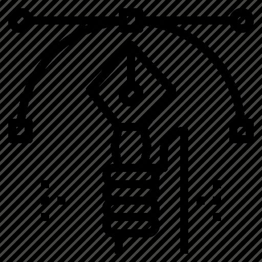 art, design, graphic, pen, tool icon