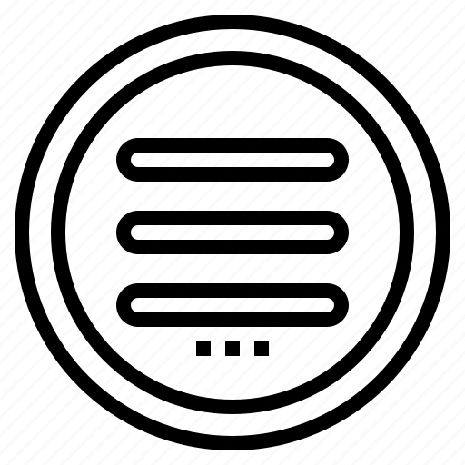 design, humburger, less, menu, more, web icon