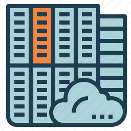 cloud, data, database, guardar, save, server icon