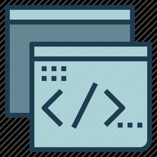 app, code, html, language, programming, web icon