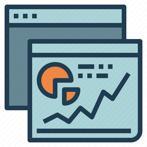 analysis, chart, research, stat, statistics, traffic icon