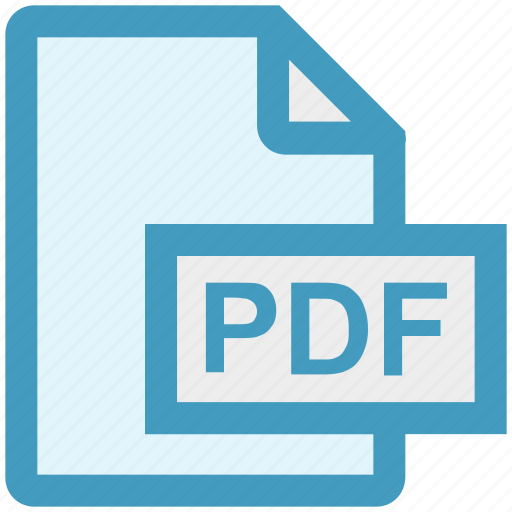 document, extension, file, file format, pdf, portable, type icon