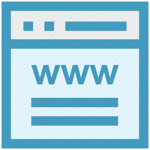blog, browser, internet, web, webpage, website, www icon