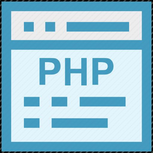blog, development, php, programming, web, webpage, website icon