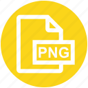 document, extension, file, format, image, png, png file icon